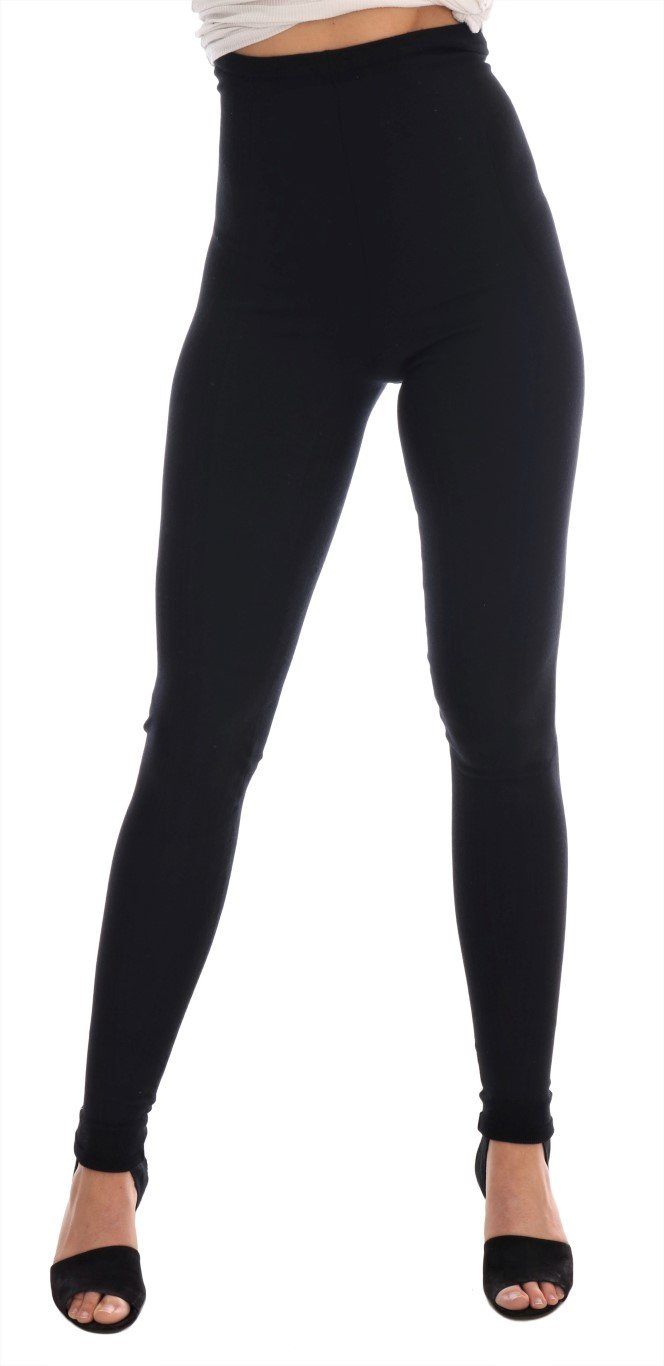 Dolce & Gabbana Women's Tights Black SCS724 - IT40|S