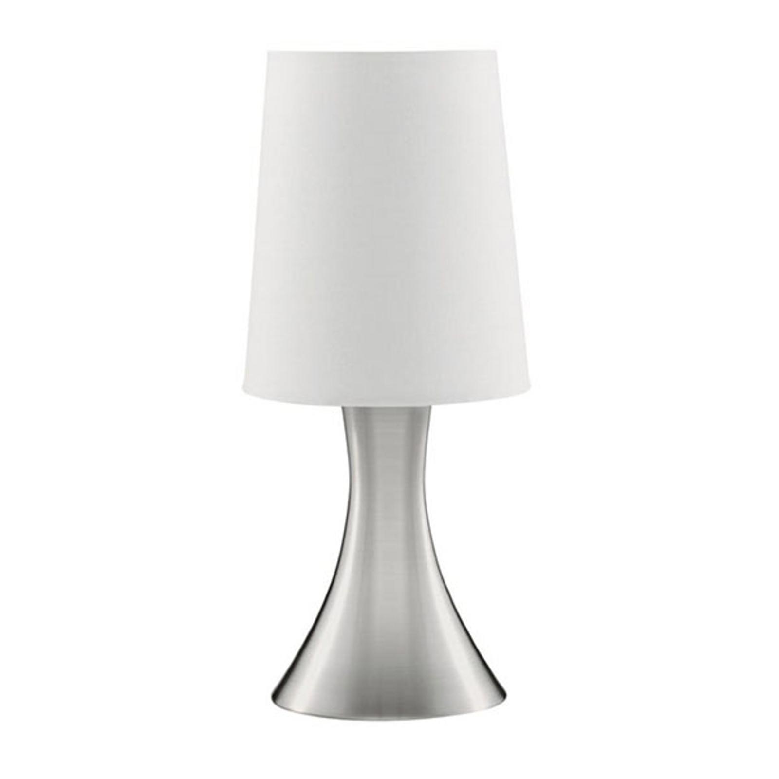 Pöytälamppu Touch 3922, hopea satiini