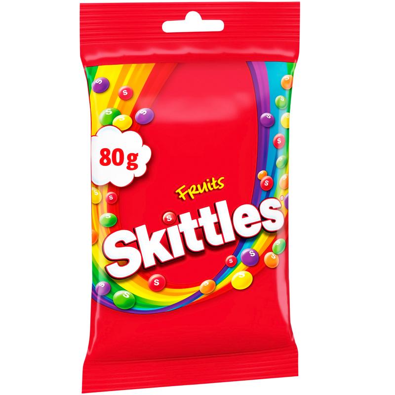 Godis Skittles Fruits - 33% rabatt