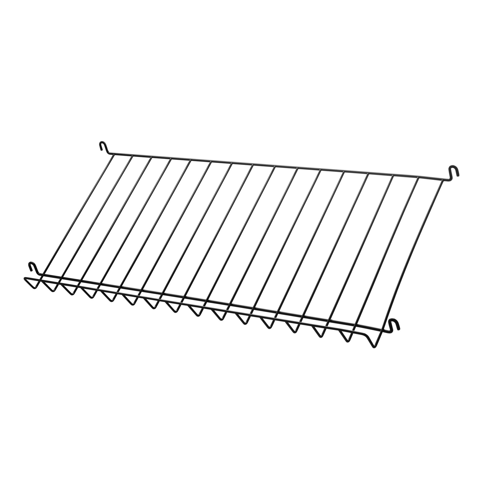 String Tidskriftshylla 78x30 svart