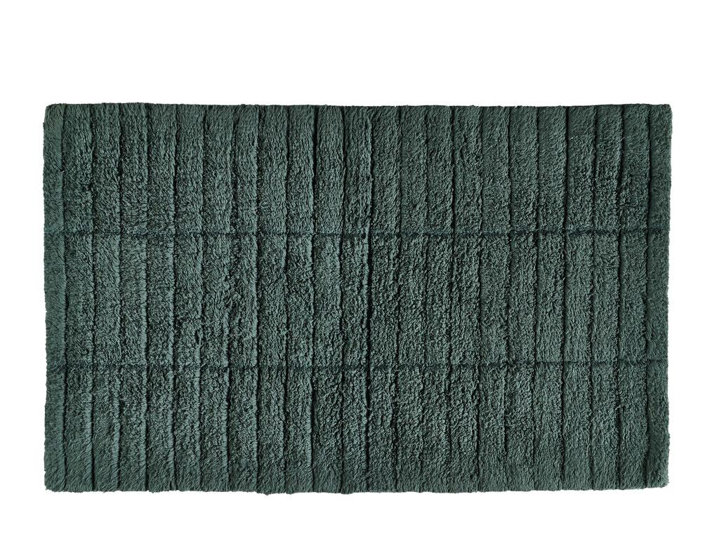 Zone - Tiles Bath Mat - Pine Green ( 13537)