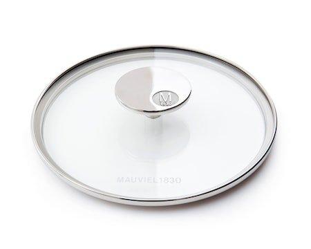M'360 Glasslokk Ø28cm glass/stål