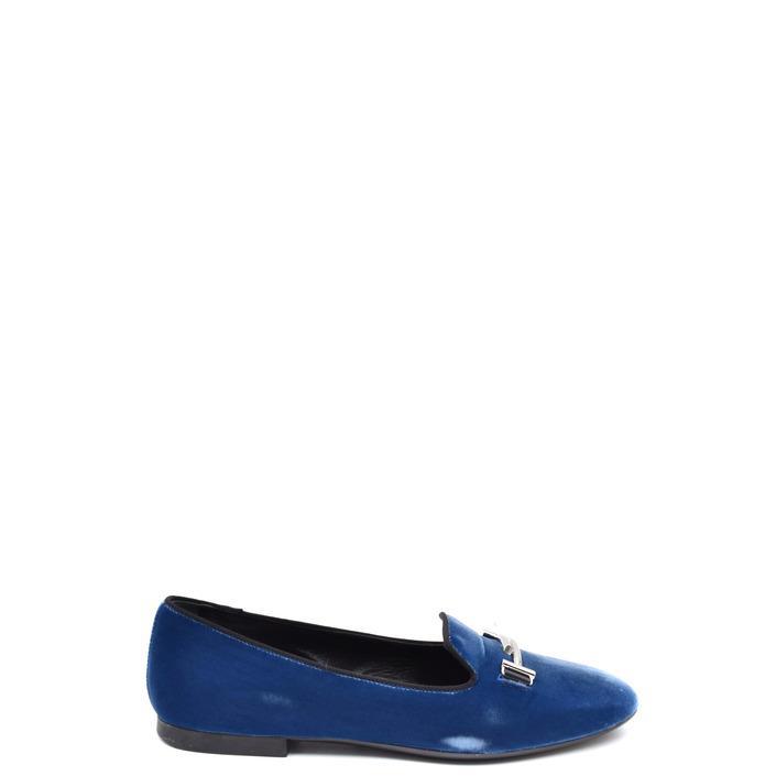 Tod`s Women's Pump Shoe Blue 262515 - blue 37