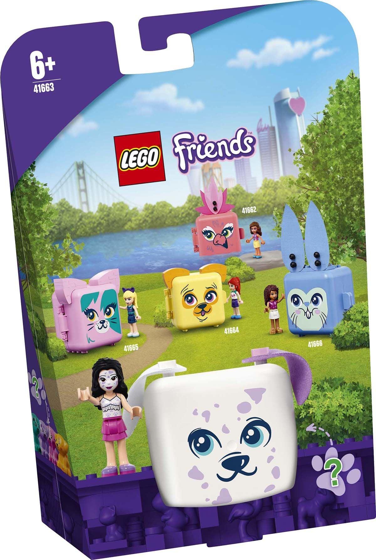 LEGO Friends 41663 Emman Dalmatialaiskuutio