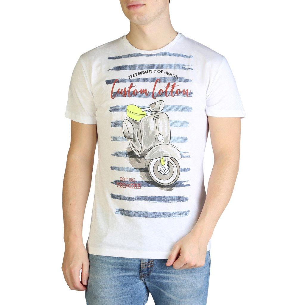 Yes Zee Men's T-Shirt Various Colours T700_TL10 - white S