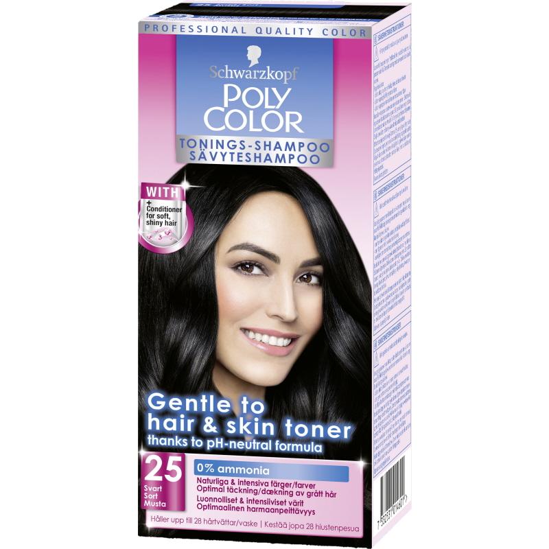 Tonings-Shampoo Svart - 56% rabatt