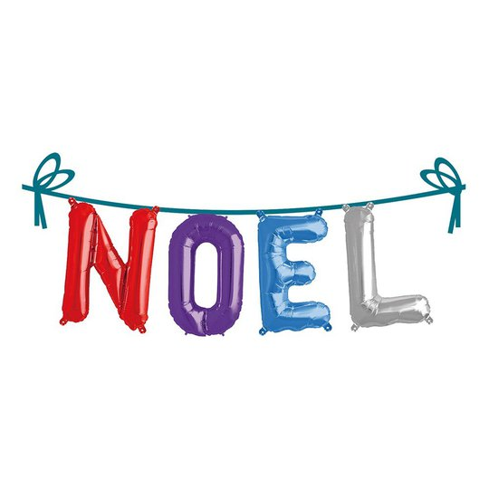 Ballonggirlang Folie Namn - Noel