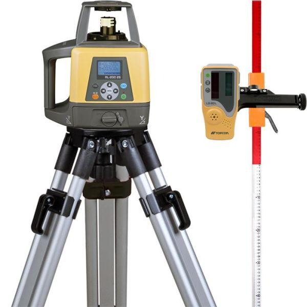 Topcon RL-200 2S Pyörivä laser, paketti