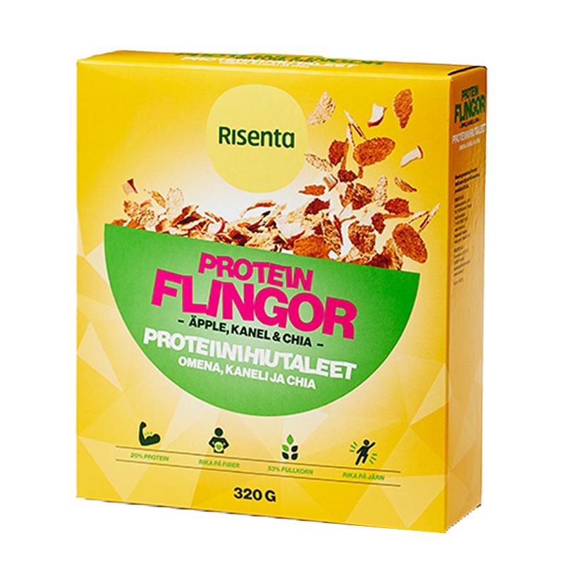 Proteinflingor Äpple, Kanel & Chia - 46% rabatt