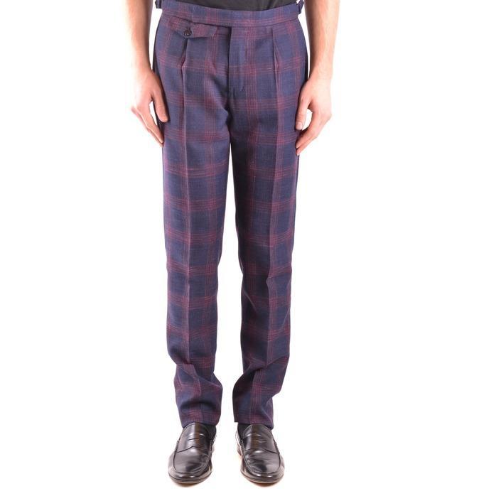 Incotex Men's Trouser Blue 164832 - blue 48