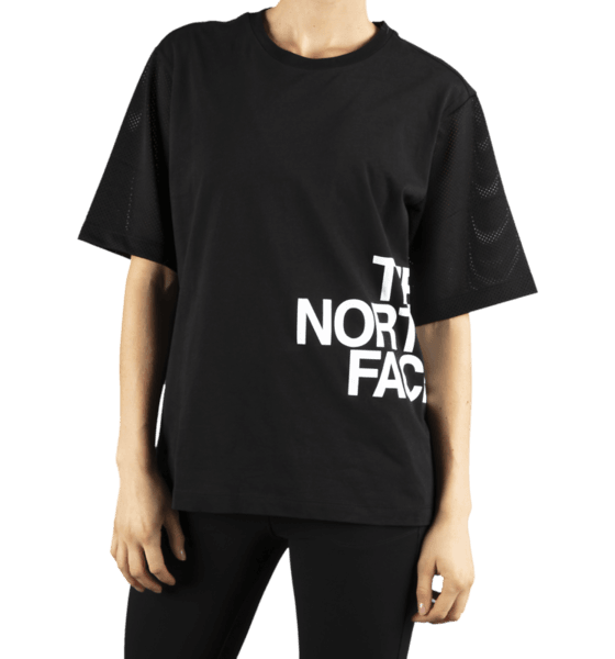 The North Face W Light S/s Tee T-shirts BLACK