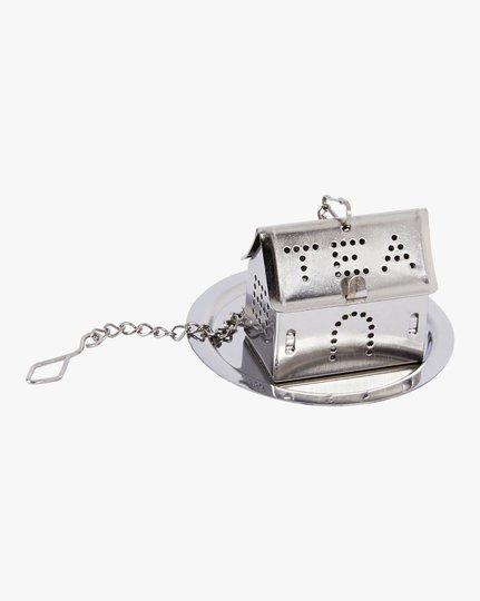 House Tea Infuser, Teräs, 5.5x5.5cm