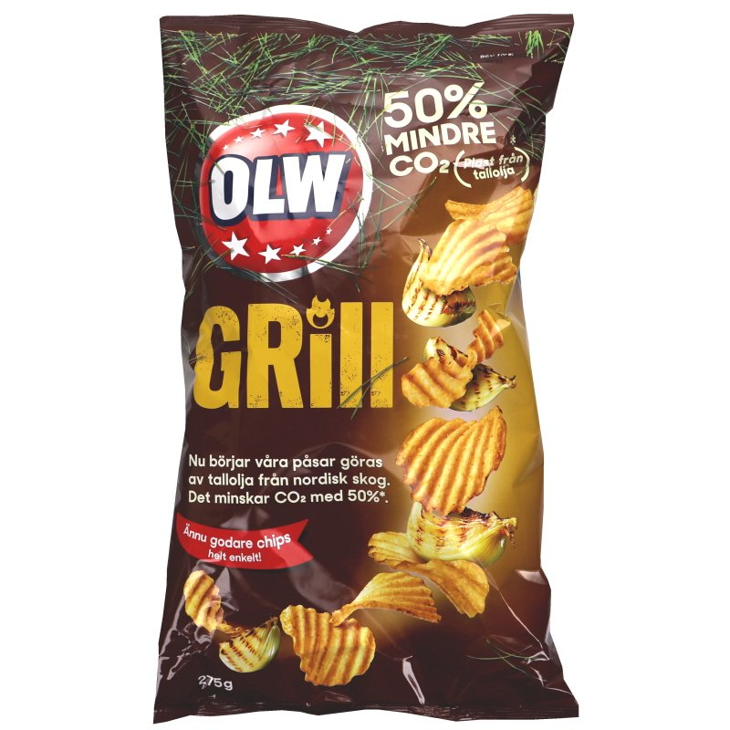 Sipsit Grilli 275 g - 32% alennus