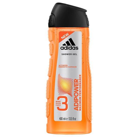 Adipower Shower Gel, 400 ml Adidas Suihku- & Kylpytuotteet miehille