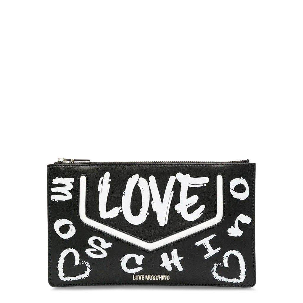 Love Moschino Women's Clutch Bag Black JC4220PP0CKC1 - black NOSIZE