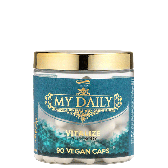 My Daily Vitamins & Minerals By Laila Bagge, 90 caps