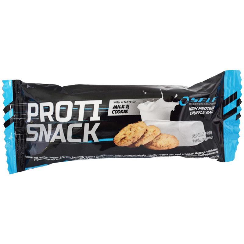 """Proteinbar """"Milk & Cookie"""" 45g - 55% rabatt"""