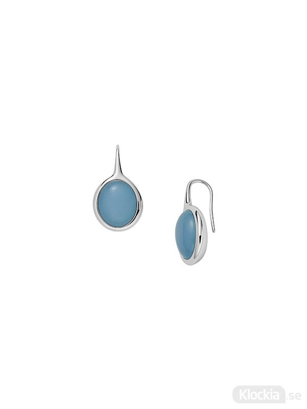 SKAGEN Örhängen Sea Glass - Silver/Blå SKJ1460040 - Damsmycke
