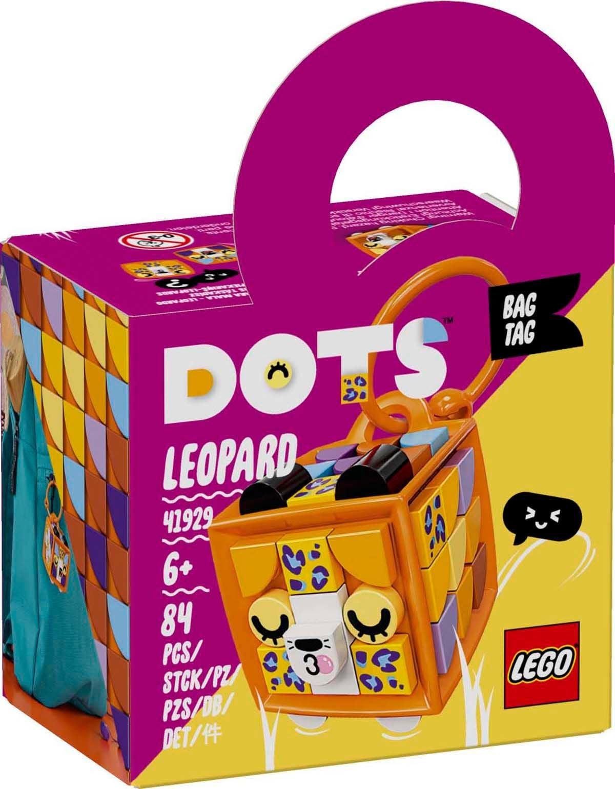 LEGO DOTS 41929 Bagagetagg - Leopard