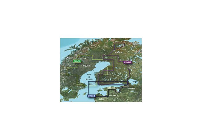 Garmin Gulf of Bothnia Garmin HXEU047R - BlueChart g3 mSD/SD
