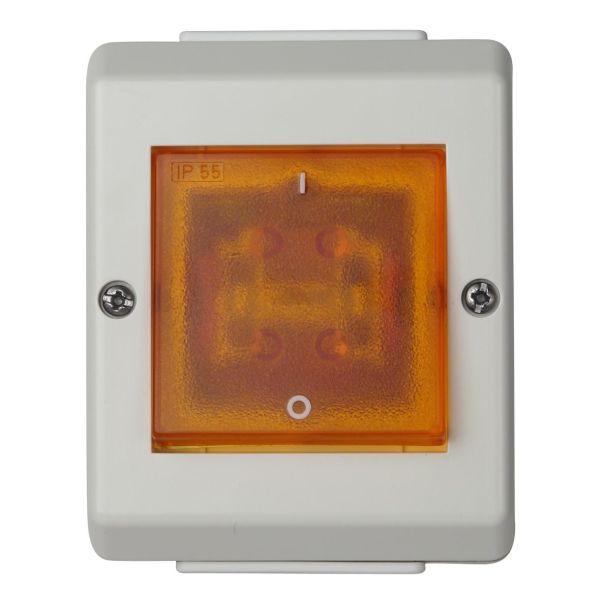 Elko EKO04313 Strømstiller med lys, 2 poler