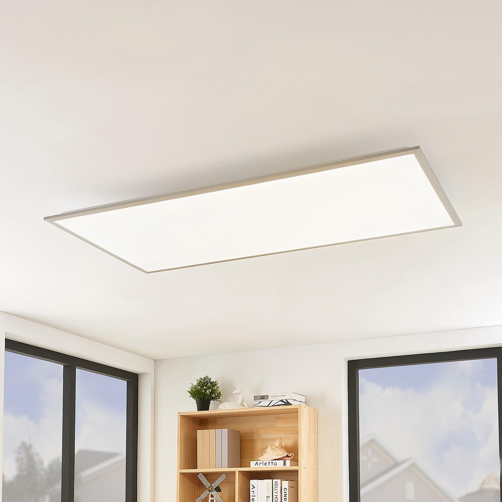 Lindby Stenley -LED-paneeli, CCT, 119 cmx59 cm