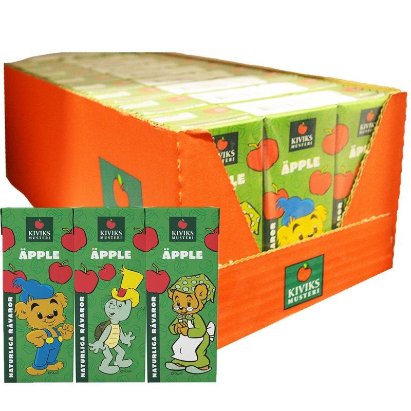 Hel Låda Dryck Bamse Äpple 27 x 20cl - 59% rabatt