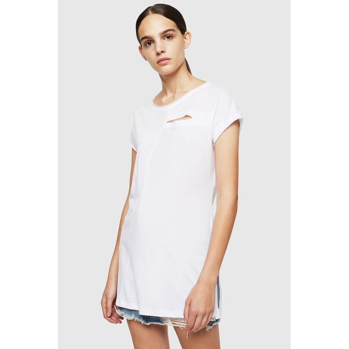 Diesel Women's T-Shirt Various Colours 294109 - white 2XS