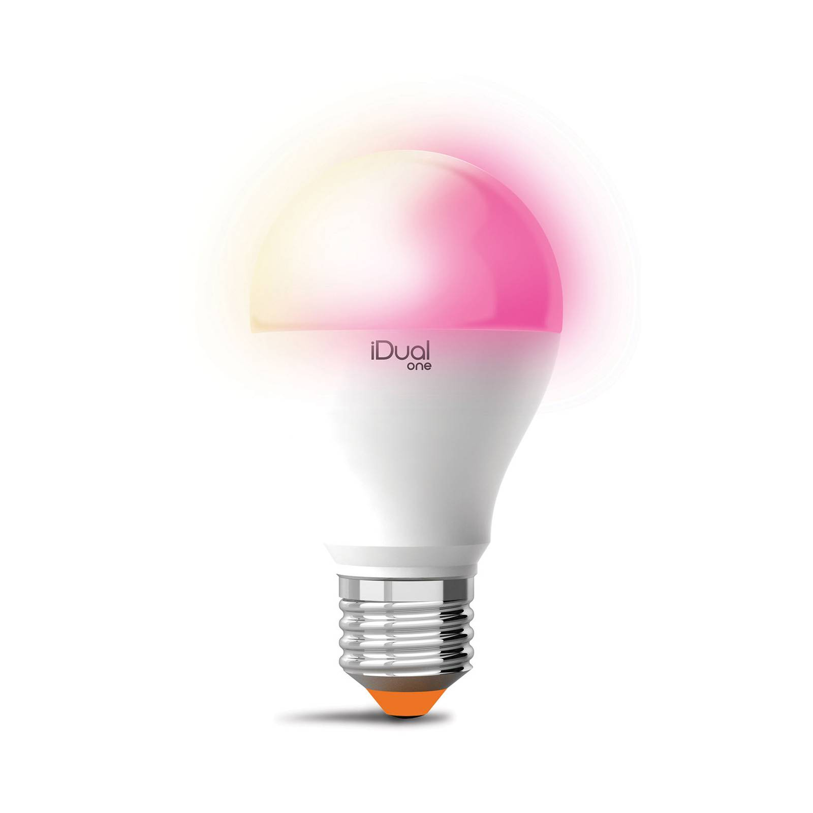 iDual One -LED-lamppu E27 A60 9,5W RGBW