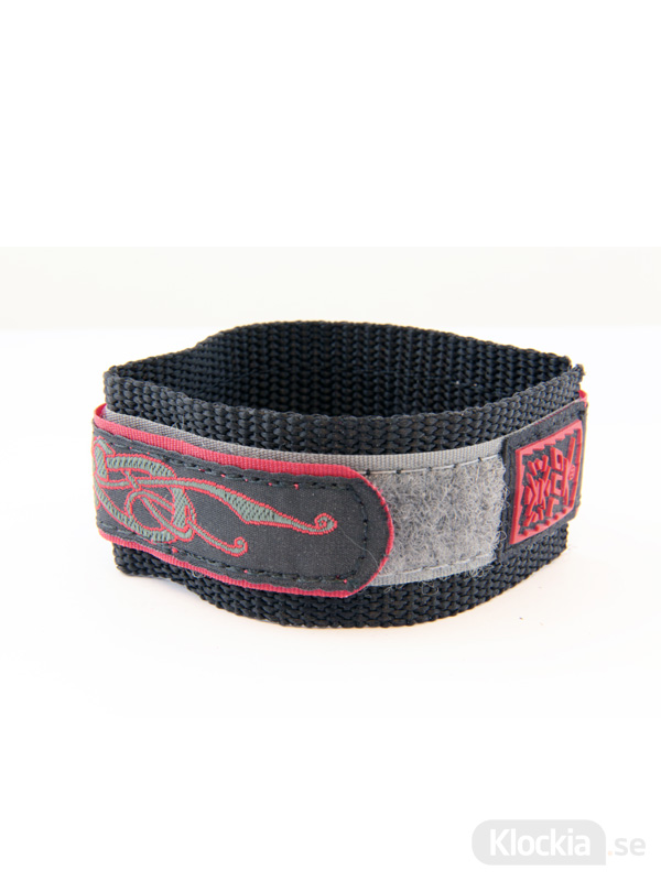 GUL Armband Velcro Mid Lizard Black 18mm - 20mm 439548