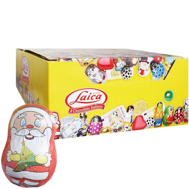 Hel Låda Mjölkchoklad Tomtar 26 x 90g - 75% rabatt