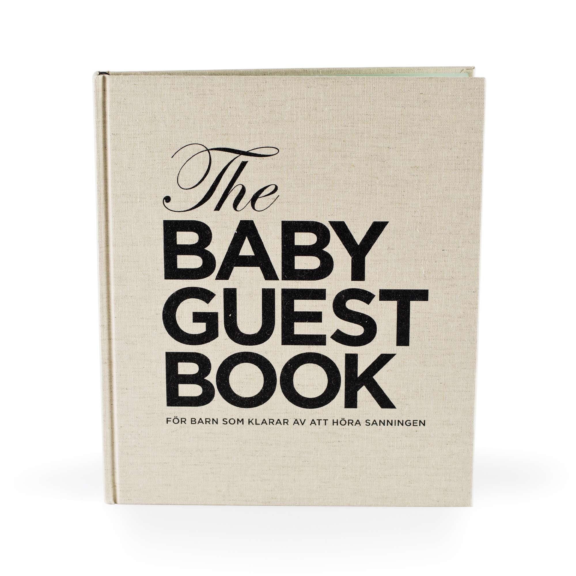 THE TINY UNIVERSE The Baby Guest Book SV