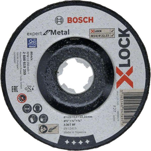 Bosch Expert for Metal Slipeskive X-LOCK 115 × 6 × 22,23 mm