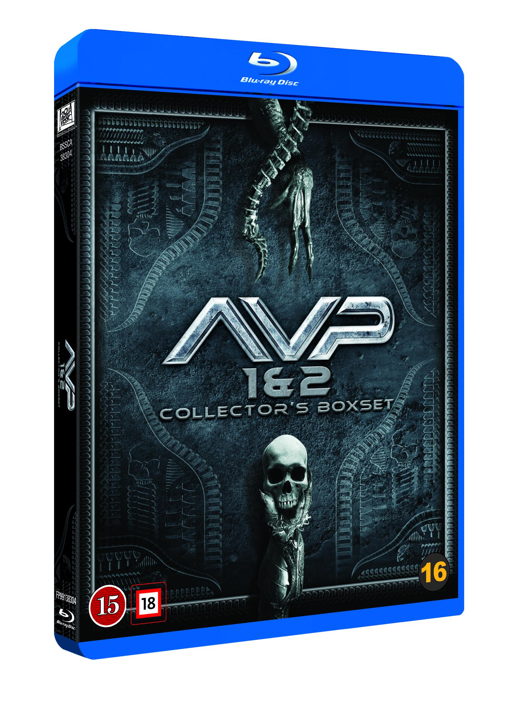 Alien Vs Predator 1-2 boxset (2 disc) (Blu-Ray)