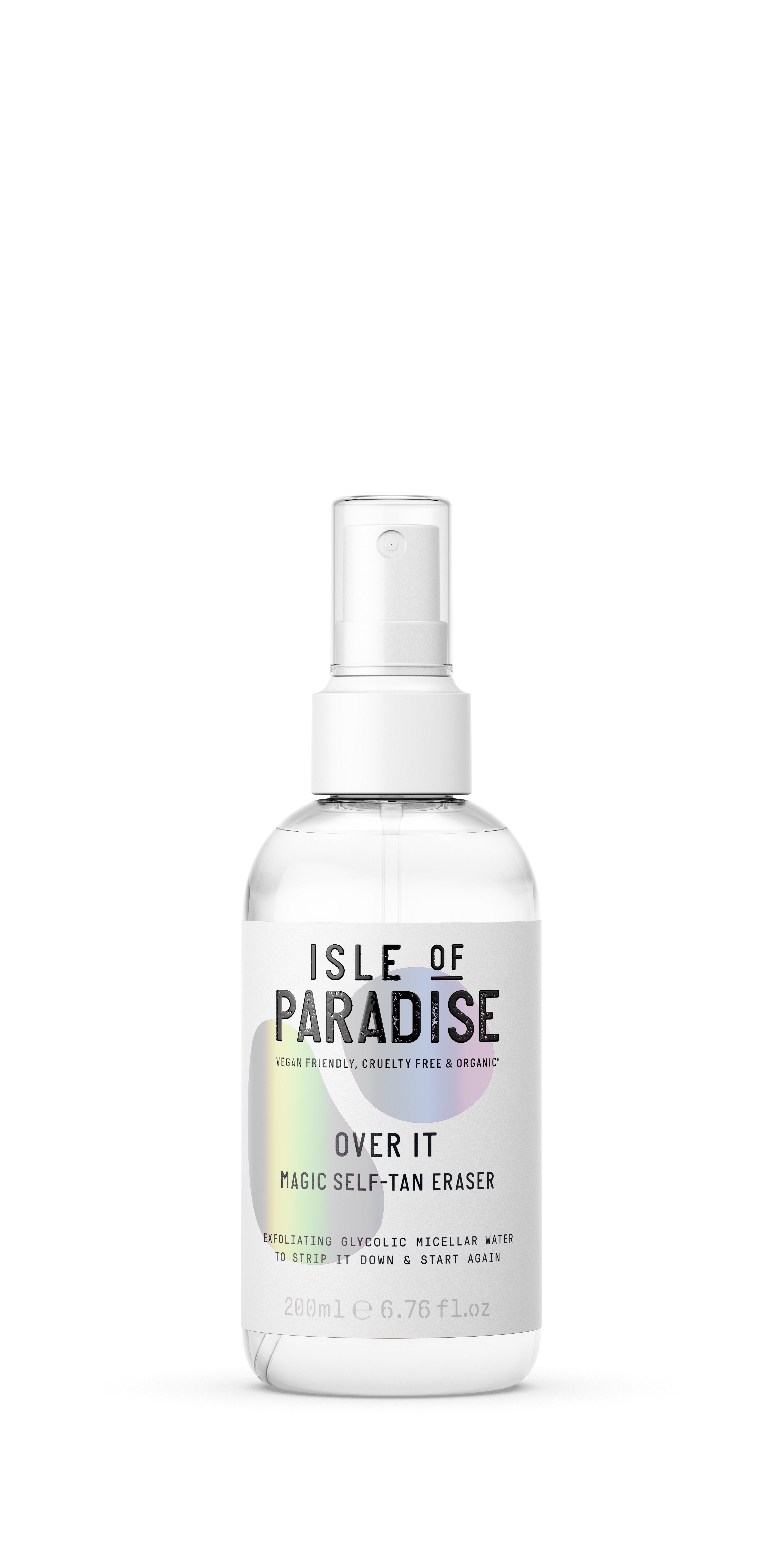 Isle of Paradise - Over It Remover Tan Eraser 200 ml