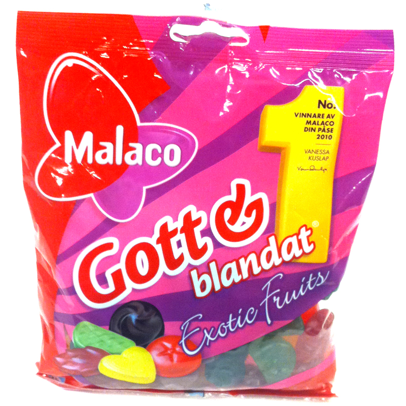 Gott & Blandat Exotic Fruits - 70% rabatt