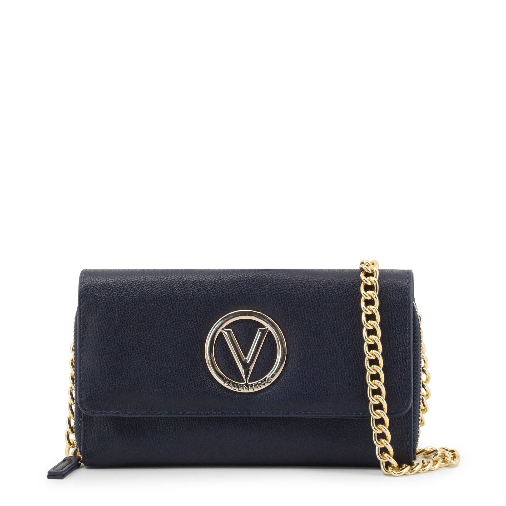 Valentino by Mario Valentino Women's Clutch Bag Various Colours SAX-VBS3JJ06 - blue NOSIZE