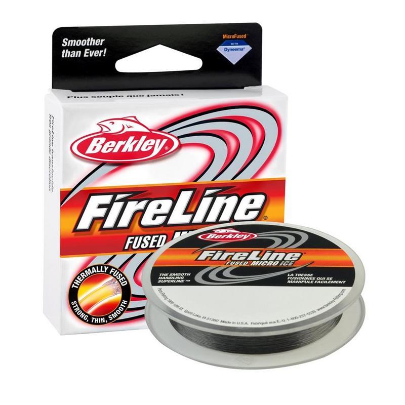 Berkley Fireline Micro Ice 0,20 mm Smoke