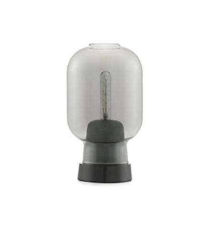 Amp Bordslampe Svart