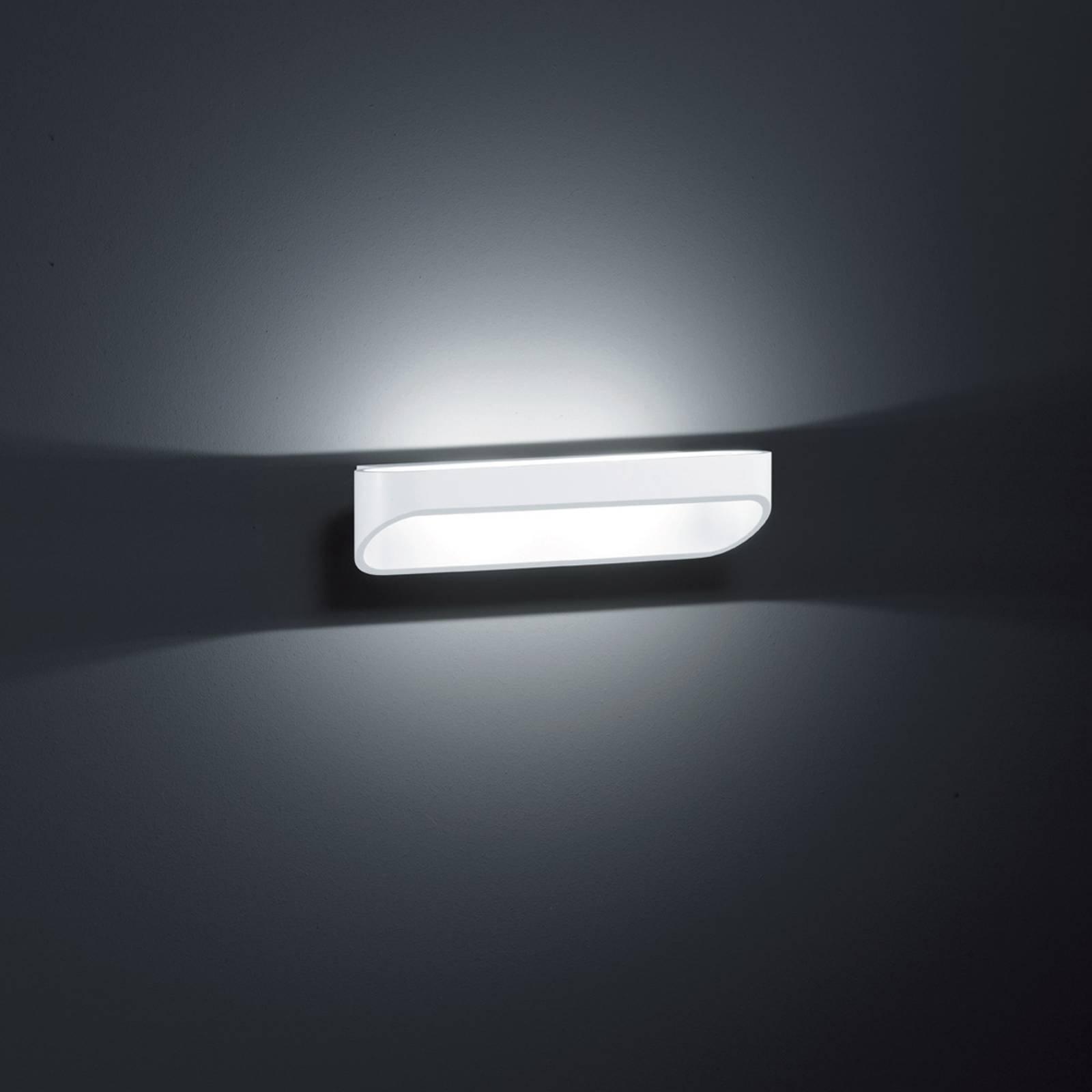 Helestra Onno - LED-vegglampe, 30 cm, matt hvit