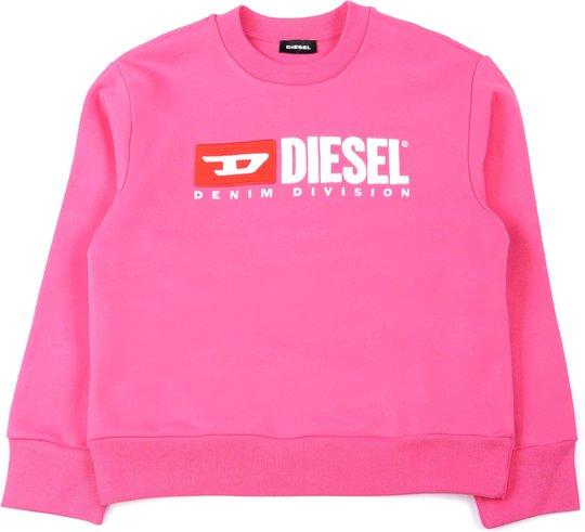 Diesel Screwdivision Sweatshirt, Fandango Pink 10år