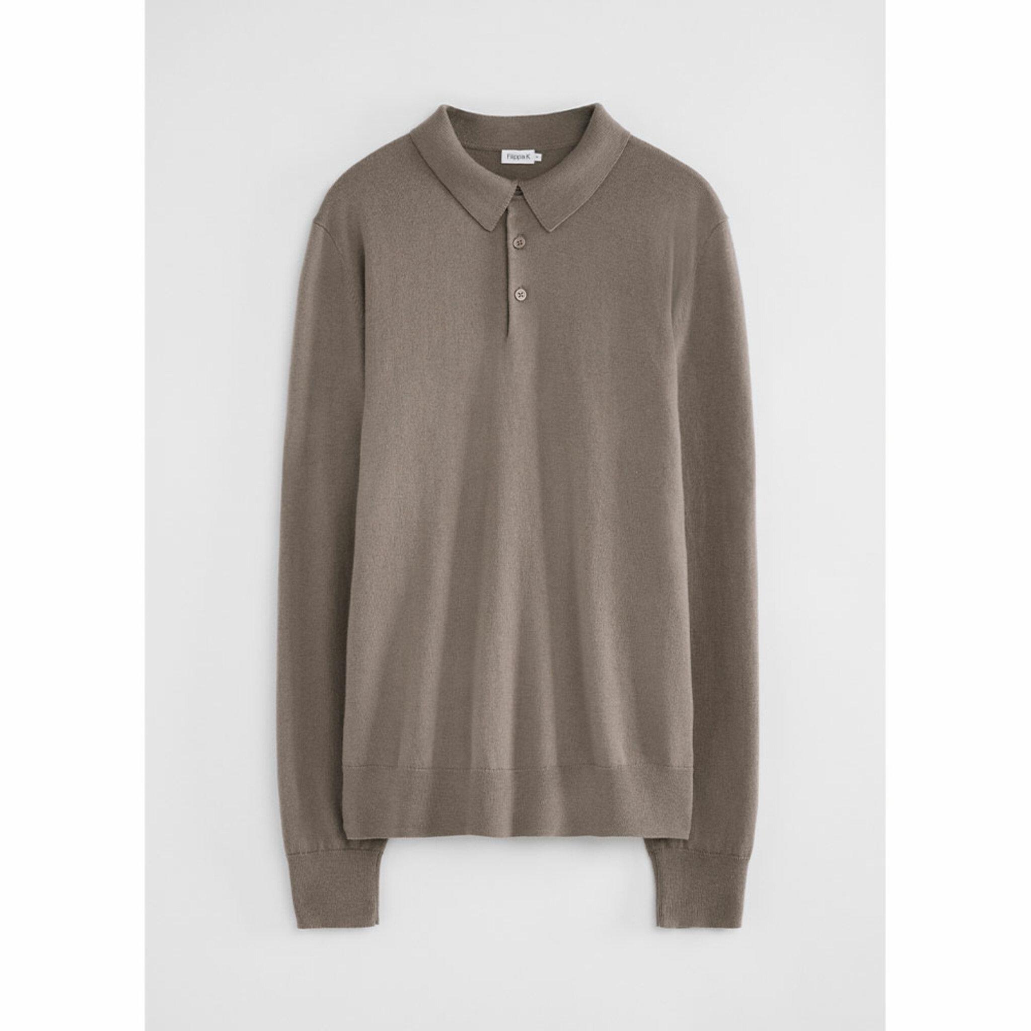 Merino Knitted Polo Shirt