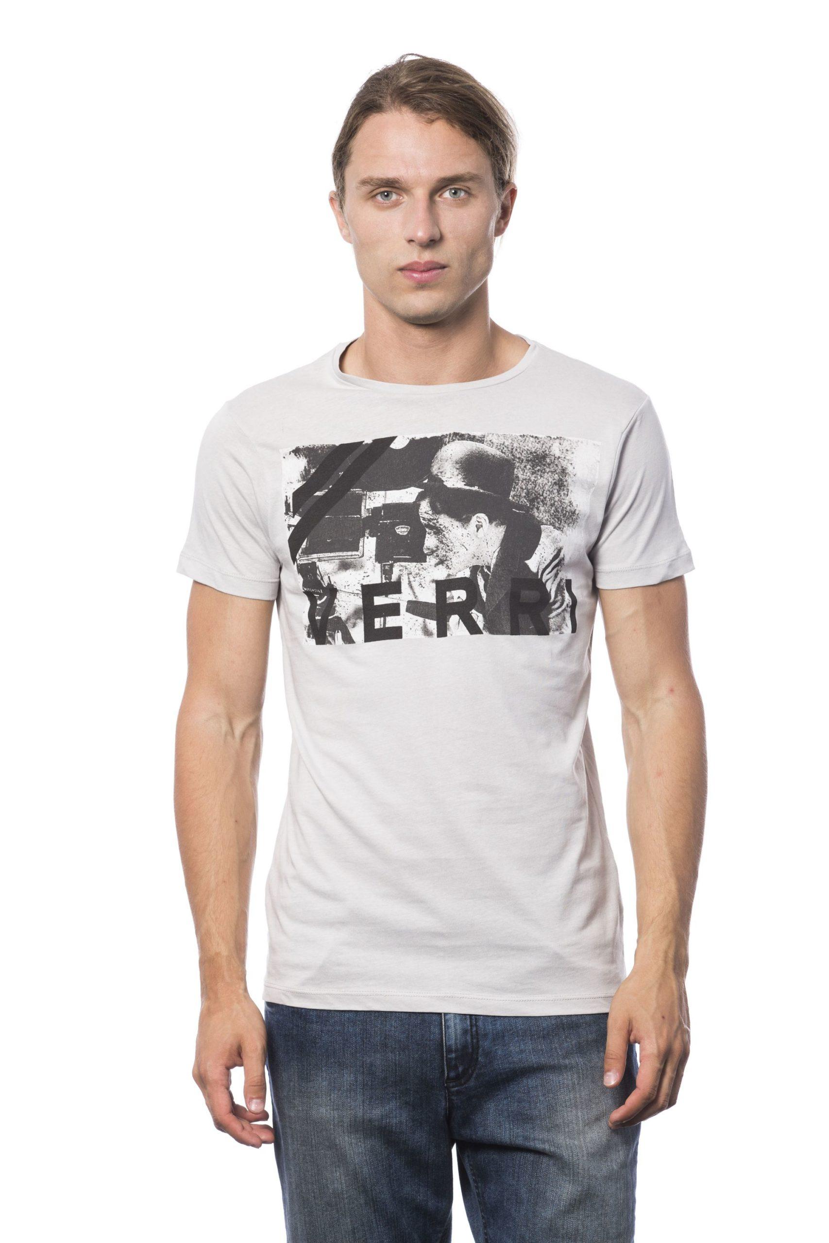 Verri Men's Grigioperla T-Shirt Gray VE681270 - S