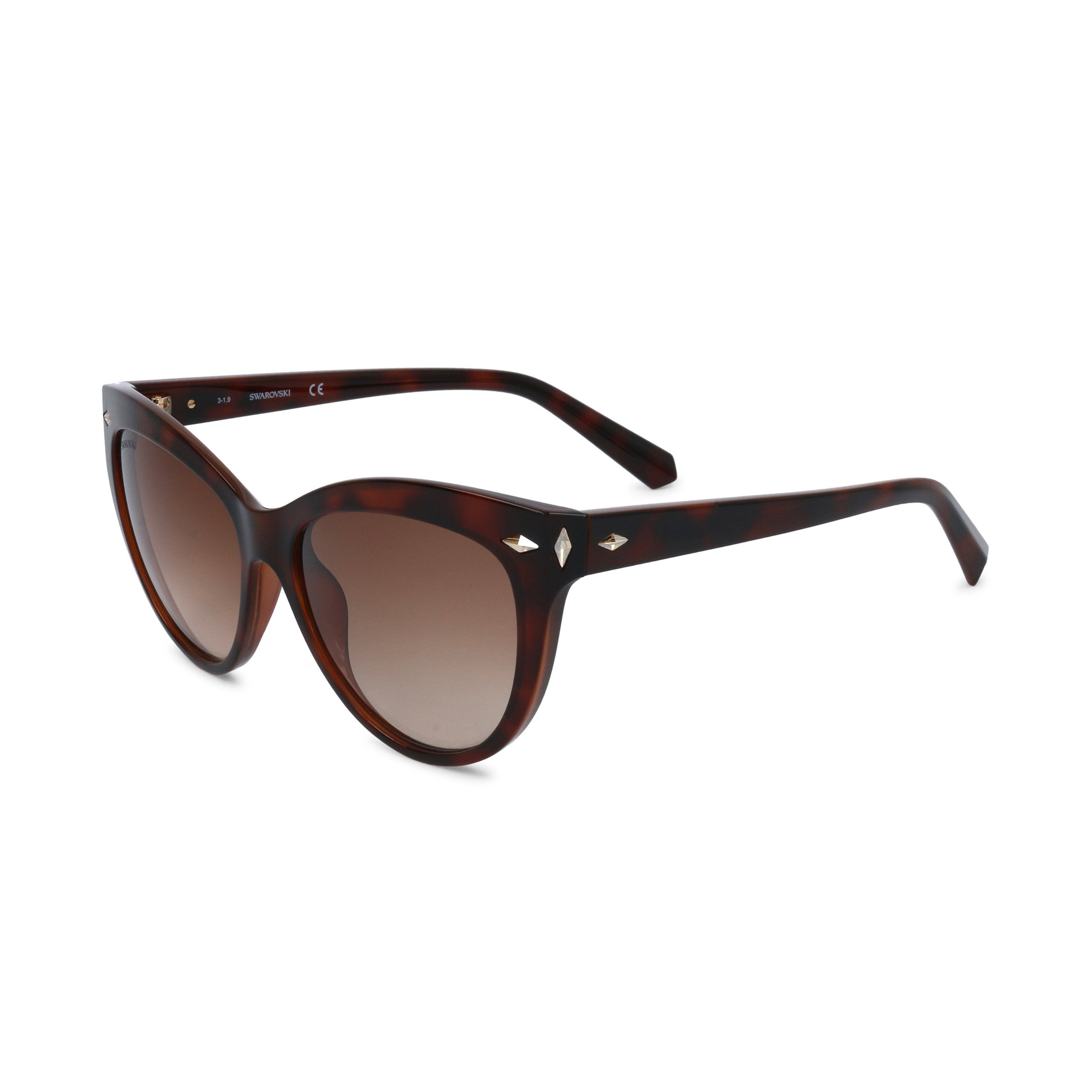 Swarovski Women's Sunglasses Black SK0176 - brown NOSIZE