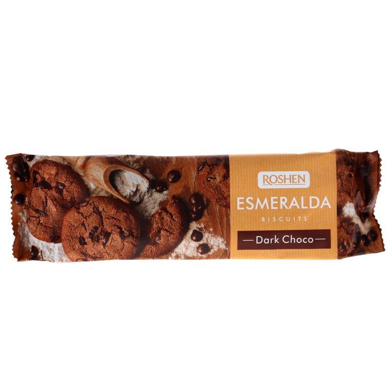 Esmeralda Tummasuklaakeksit - 45% alennus