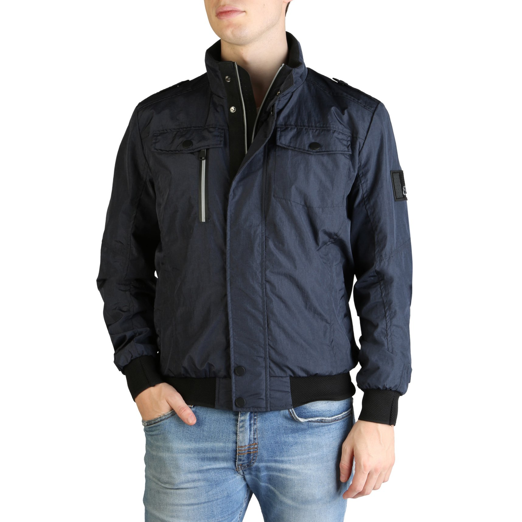 Yes Zee Men's Jacket Various Colours J510_NF00 - blue S