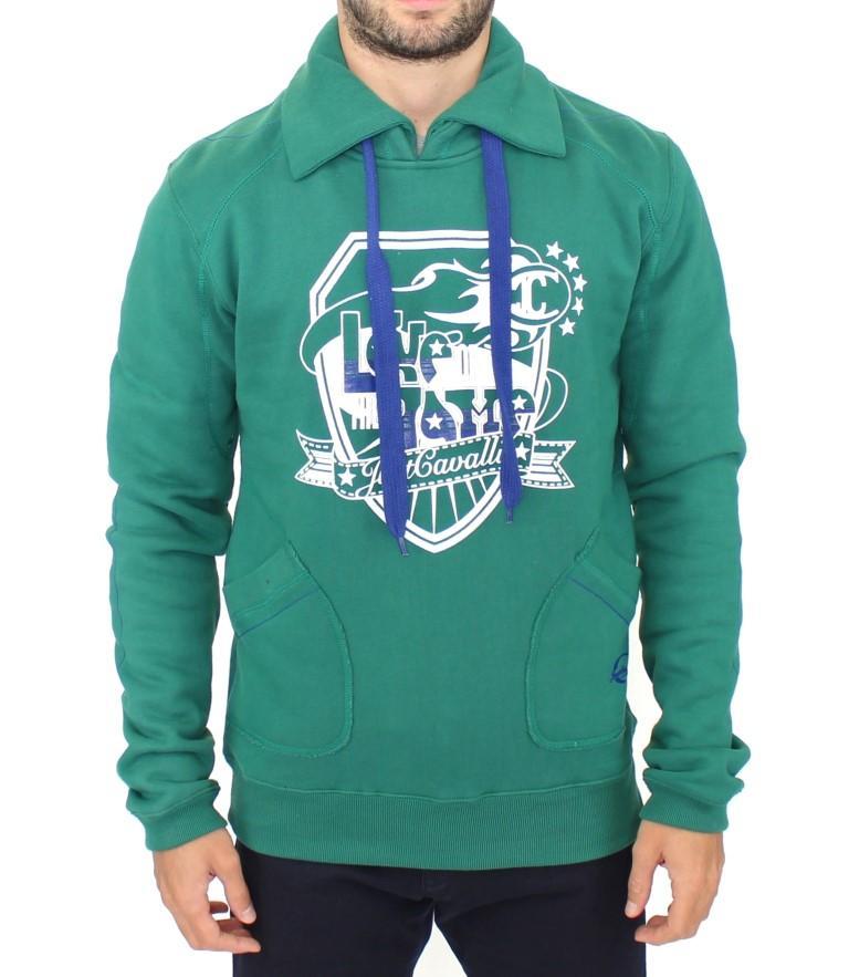 Cavalli Men's Sweater Green SIG10002 - IT48 | M