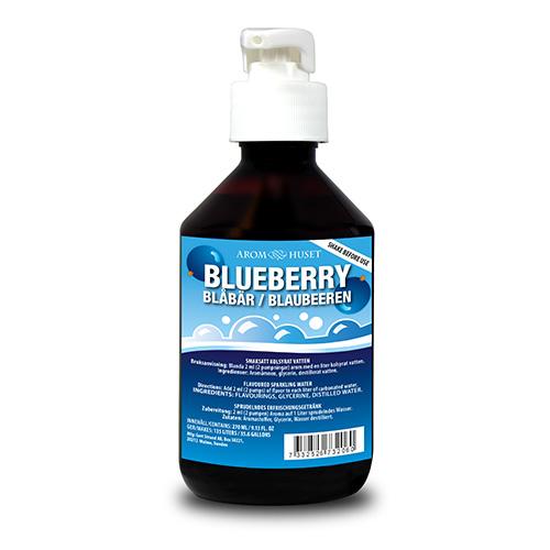 Blåbär Bordsvattenarom i 270 ml pumpflaska ger 135 liter dryck