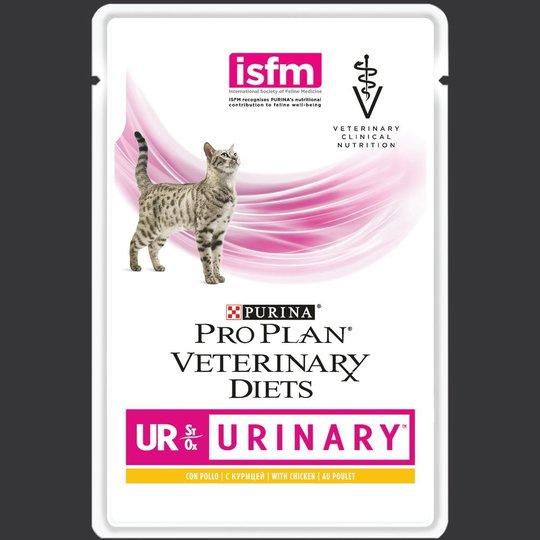 Purina Pro Plan Veterinary Diets Cat UR Urinary Chicken 10x85 g