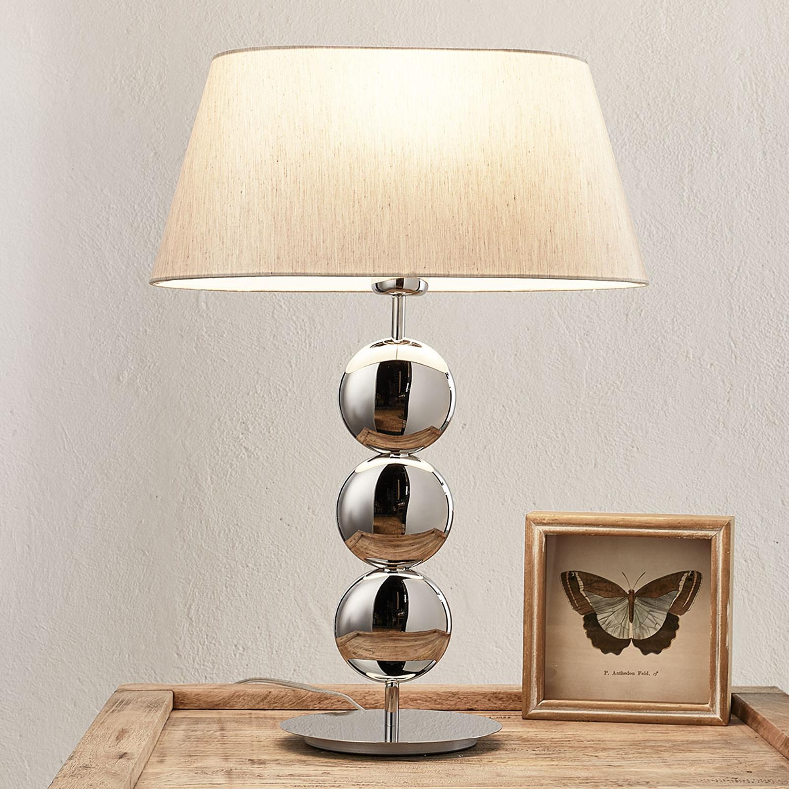 Villeroy & Boch Sofia -pöytälamppu, hopea